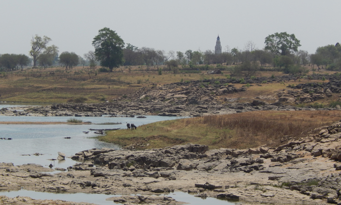 लीलागर नदी, डमरु के समीप, छत्तीसगढ़